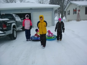 The last time we were in Iowa the weather was like this...what will it be this time?